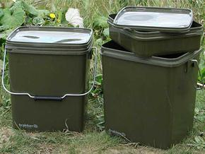 Olive Square Container 13Litre